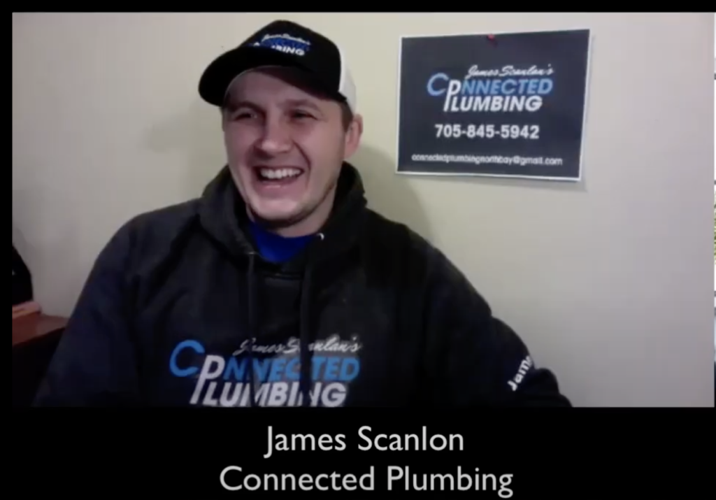 North Bay Plumbing Company James Scanlon from Connected Plumbing